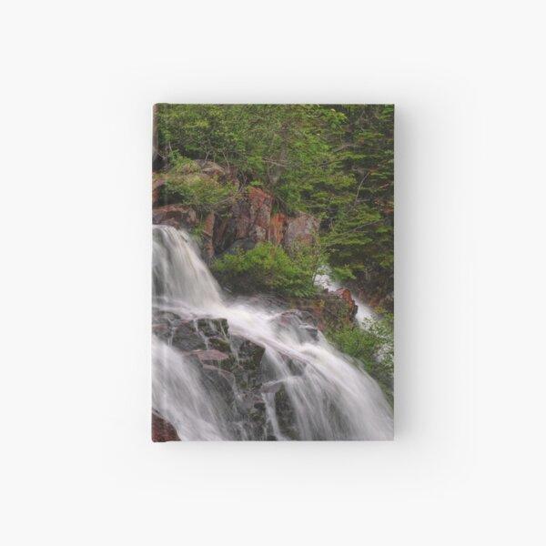 mink river falls Hardcover Journal