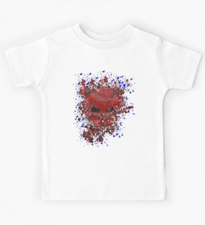 skull splat Kids Clothes