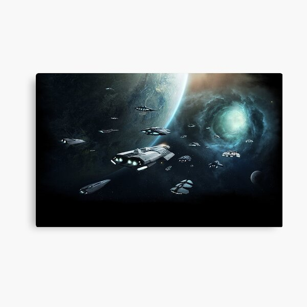 Stellaris Canvas Print