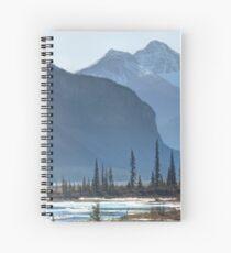 Canadian Rockies Spiral Notebook