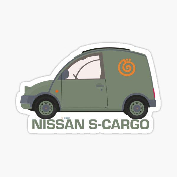 Illustration of the famed Nissan S-Cargo Sticker