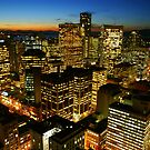 Vancouver at Night by stevefinn77