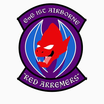 "GnG 1st Airborne ""RED ARREMERS"" by vgjunk"