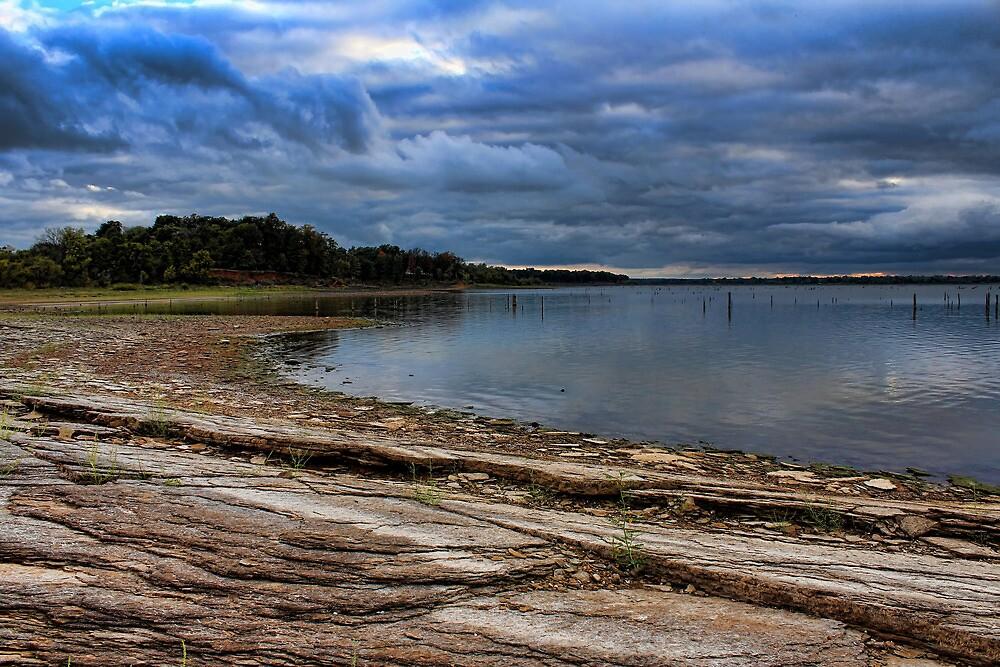 Shoreline's Rocky Curves by Carolyn  Fletcher