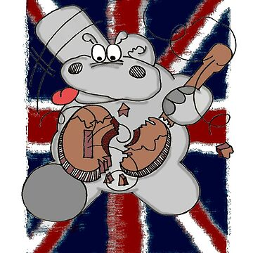 Hippo Union Jack Thrash by Chicot