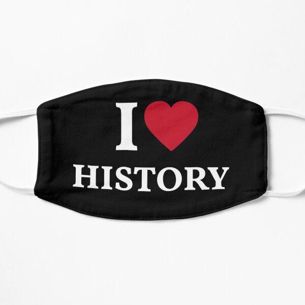 I Love History Mask