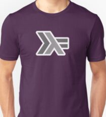 haskell (round outline) Unisex T-Shirt