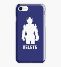 DELETE iPhone Case/Skin