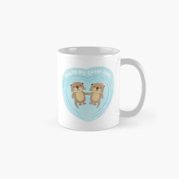 You Are my Otter Half, Cute Love Pun Humor Classic Mug