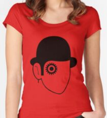 A Clockwork Sketch  Women's Fitted Scoop T-Shirt