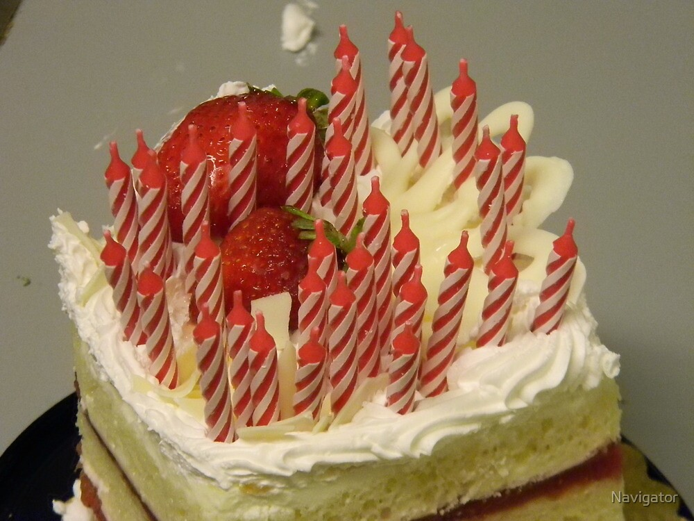 The Birthday Cake! by Navigator