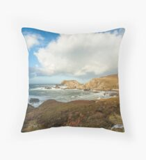 Port, Glencolmcille Throw Pillow
