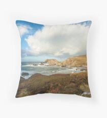 Port, Glencolmcille Throw Pillow