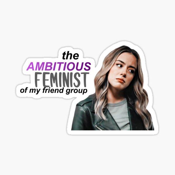 Daisy Johnson Design  Sticker