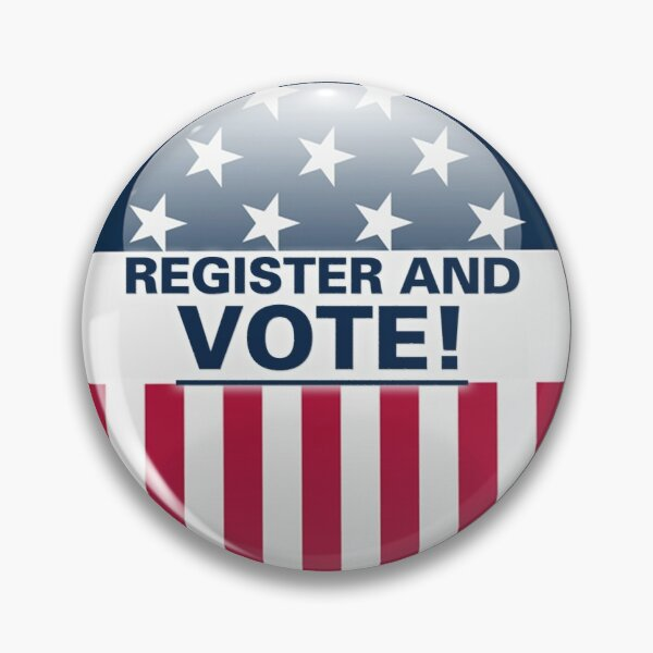 Register and vote Pin