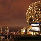 Science World at night by stevefinn77