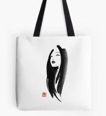 japanese woman Tote Bag