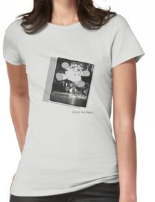 Chicot the Hippo Live On Stage Womens Fitted T-Shirt
