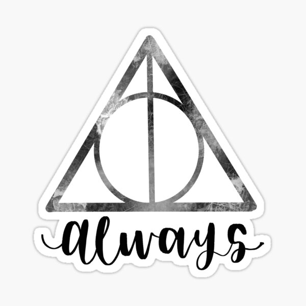 Always Deathly Hallow Sticker