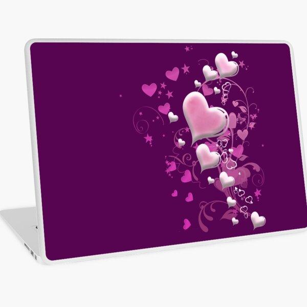 Herzen aus Zuckerguss Laptop Folie