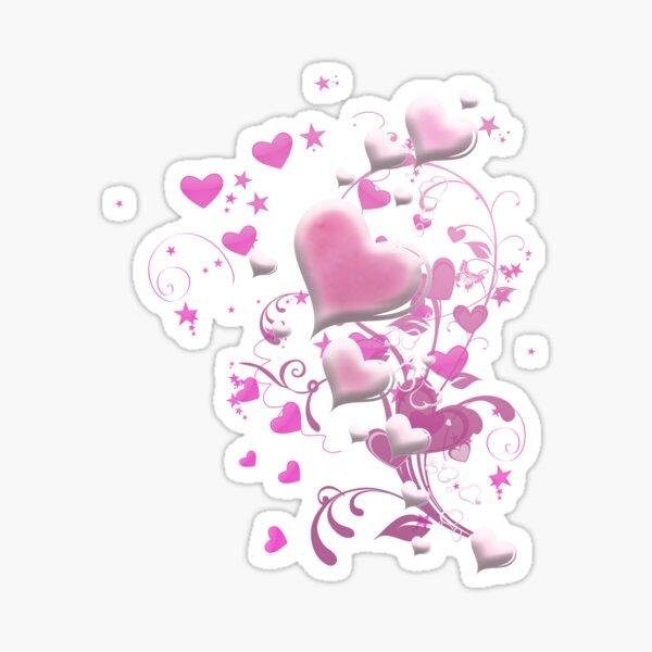 Herzen aus Zuckerguss Sticker