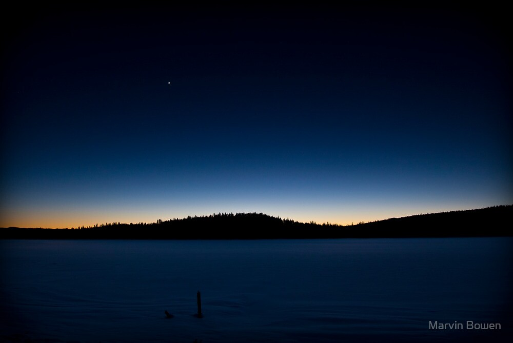 Winter Evening Star by Marvin Bowen