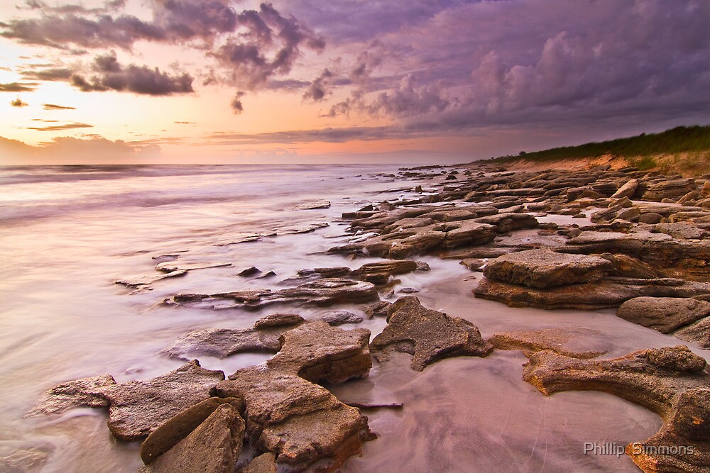 Dawn in Flagler County by Phillip  Simmons