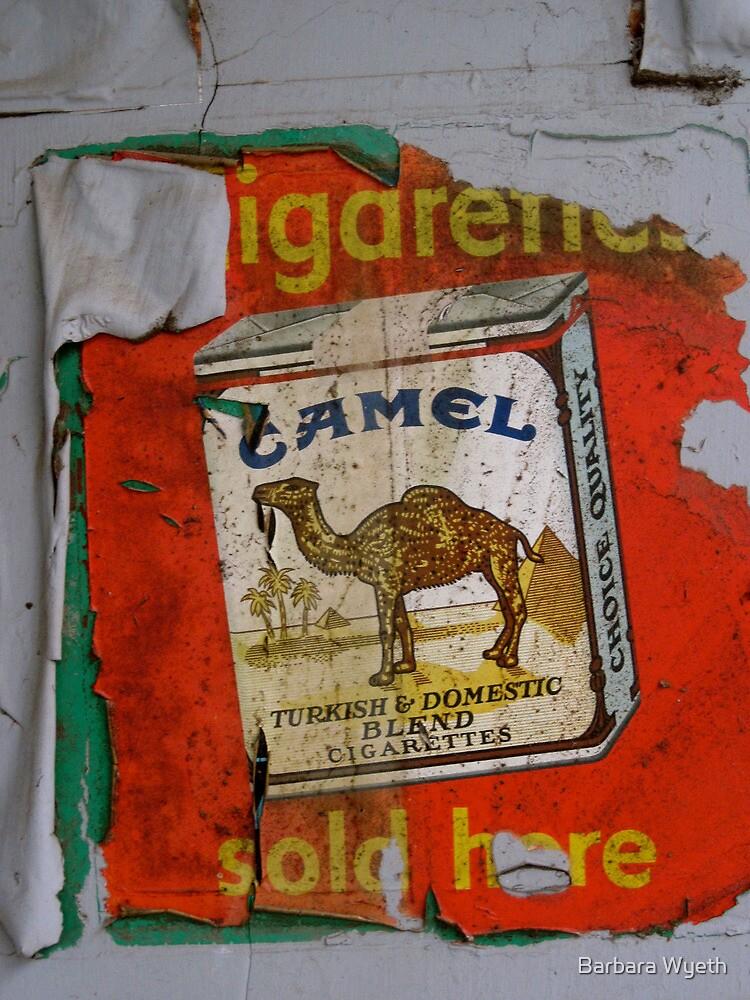 Camel - Old Advertisement by Barbara Wyeth