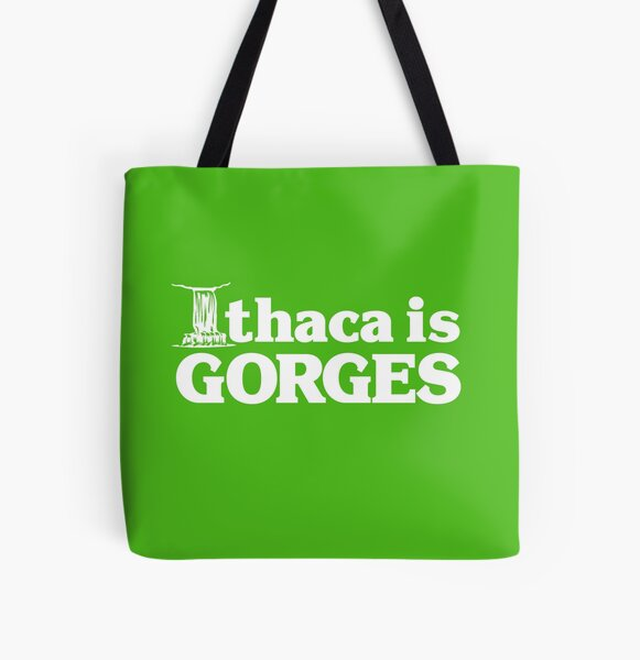 Ithaca is Gorges (classic) - Upstate Ithaca, New York NY College All Over Print Tote Bag
