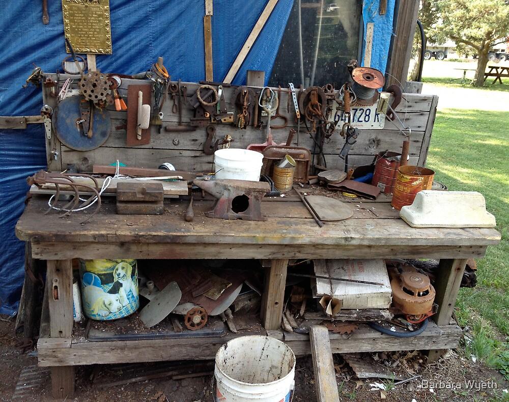 Yard Sale, Lomax, Illinois by Barbara Wyeth