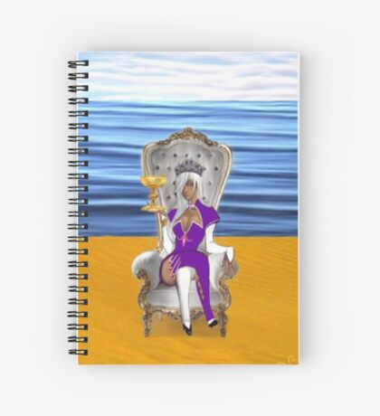QUEEN OF CUPS Spiral Notebook