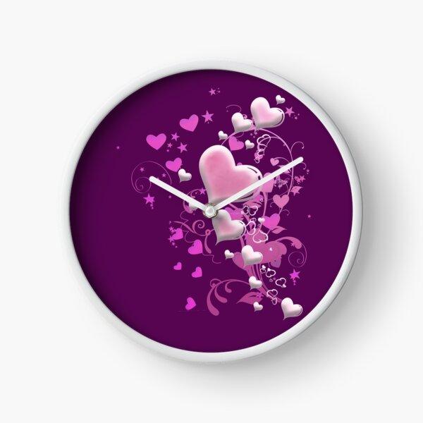 Herzen aus Zuckerguss Uhr