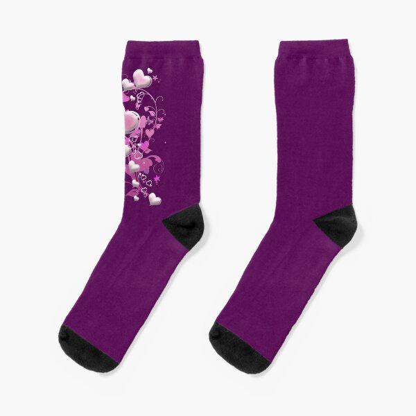 Herzen aus Zuckerguss Socken