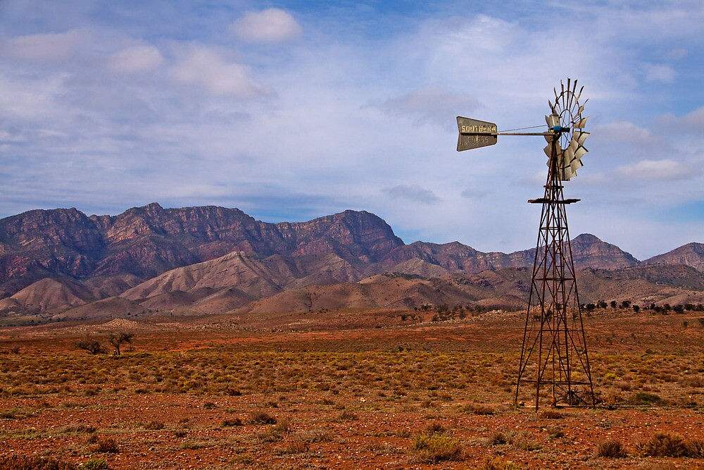 Flinders Windmill in Afternoon Light by pablosvista2