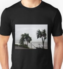 Strong Winds at Lyme Dorset UK Unisex T-Shirt