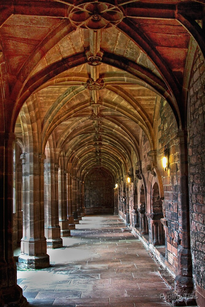 Chester Cathedral 1 by Pauline Tims