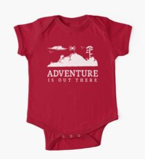 Adventure Is Out There Walking Hiking Trekking T Shirt One Piece - Short Sleeve