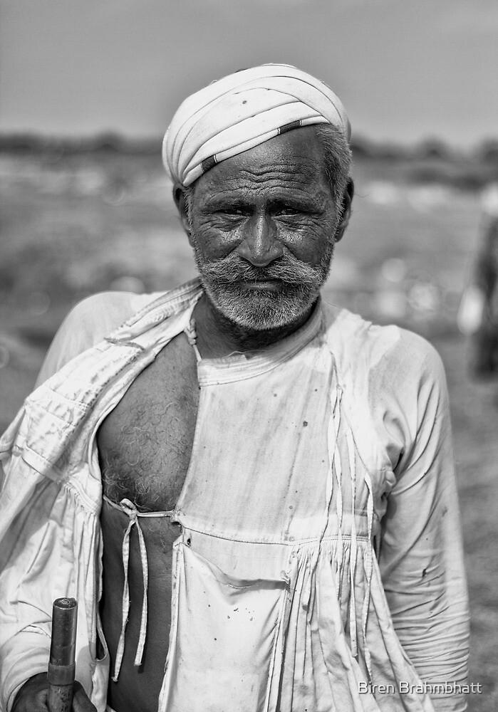 Madha, The Buffallo Herder by Biren Brahmbhatt