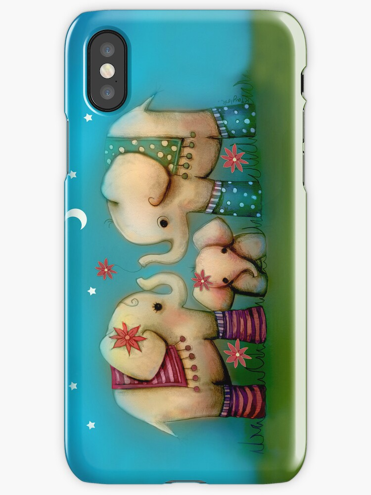 Baby Ellie iPhone Case by © Karin Taylor