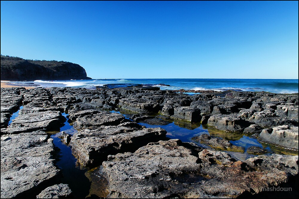 Narrabeen Beach by mashdown