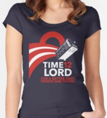 Timelord 2012 (Shirt) Women's Fitted Scoop T-Shirt