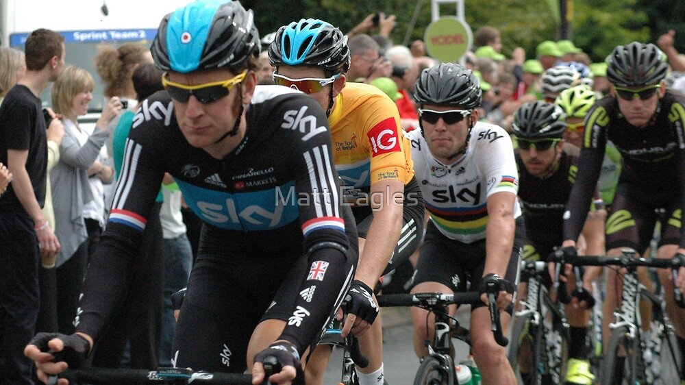 Stage Two- Tour of Britain  by Matt Eagles