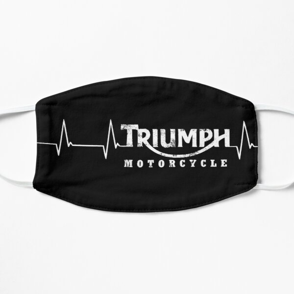 Triumph Heartbeat Vintage British Classic logo Mask