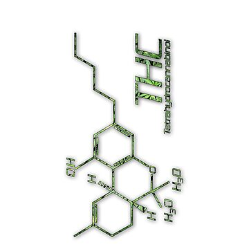 THC Molecule by Netherlabs