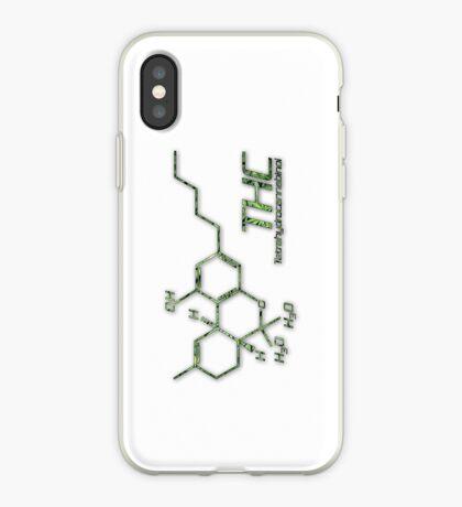 THC Molecule iPhone Case