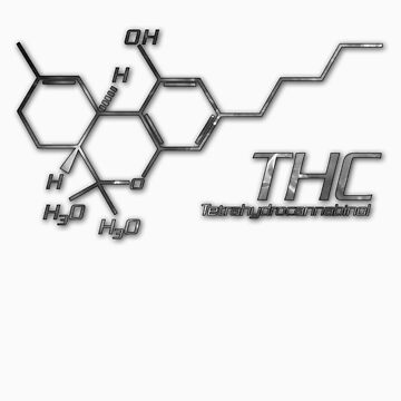 THC Molecule - Smoke by Netherlabs