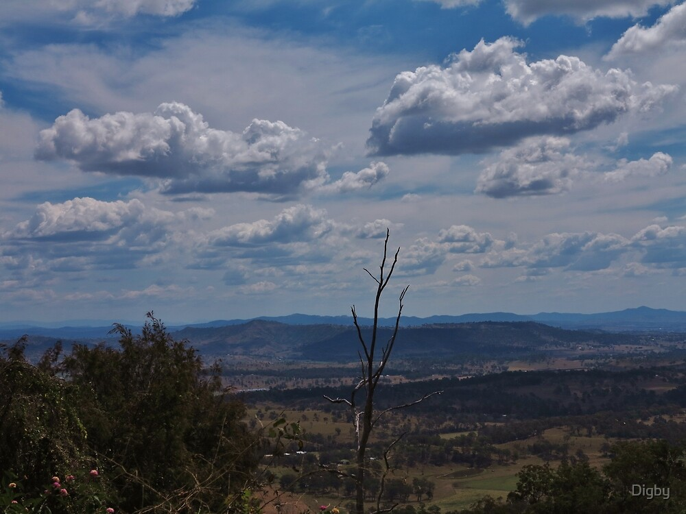 Clouds over the Lost Valley by Digby