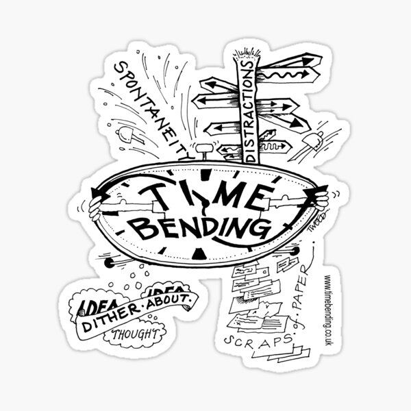 Timebending Sticker