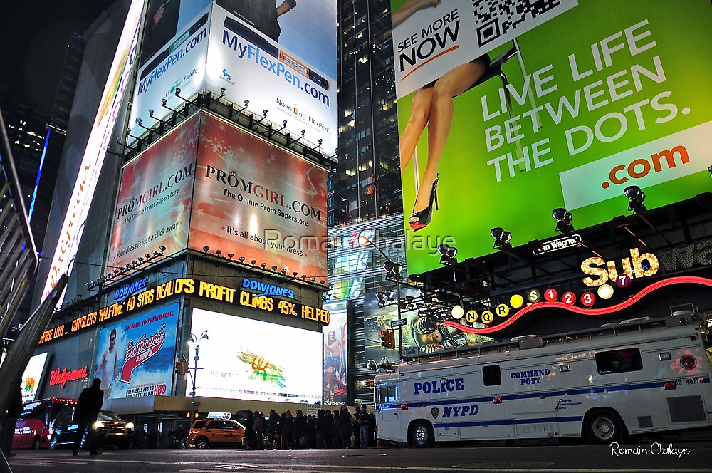 Time square by RomainChalaye