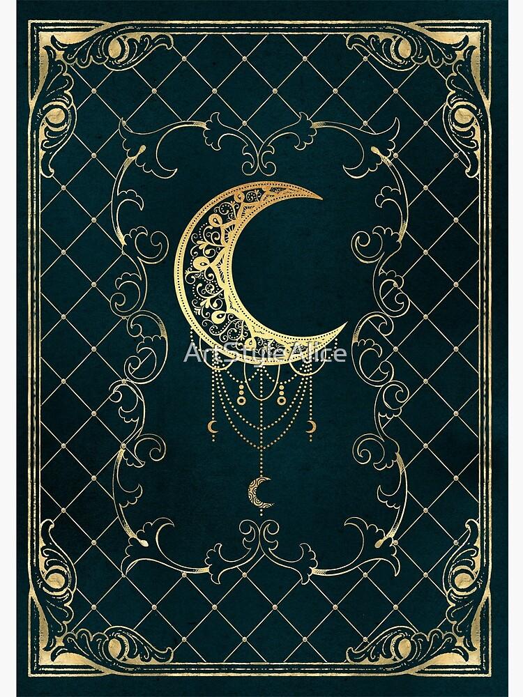 Magic blue moon by ArtStyleAlice